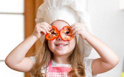 Cómo hacer que tus hijos coman verdura