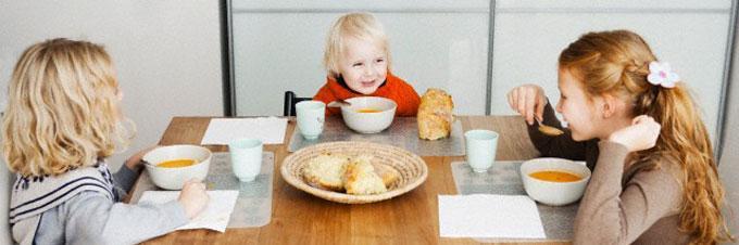 Cenas para niños que complementan el menú escolar