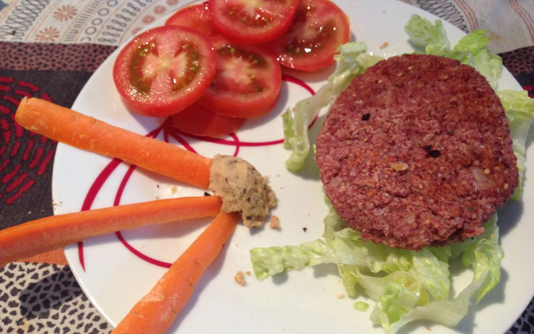 Cómo preparar hamburguesas veganas