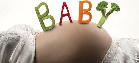 Embarazo y dieta vegetariana