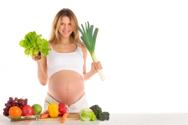 Voy a ser mamá, ¿puedo seguir siendo vegetariana?